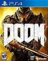 JOGO Doom 4 - PS4 - PLAY 4 - PLAYSTATION 4 / FPS