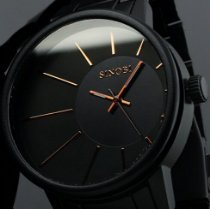 Relógio Sinobi Luxo Black