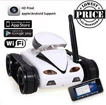 Tanque Espião Com Camera Hd E Wi Fi - Lançamento 2016