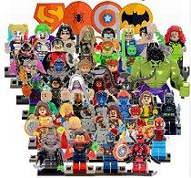 Lego Super Heróis / Kit com Personagens