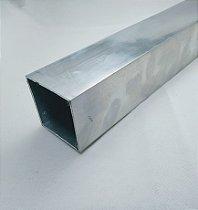 Tubo Quadrado Aluminio 2 x 1/16 (5,08cm x 1,58mm)