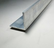 Cantoneira de Aluminio 1.1/4 X 1/8 = 3,17cm X 3,17mm