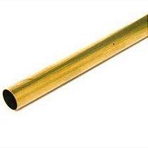 Tubo Redondo Latão 1 X 1/32 (25,40mm X 0,79mm)