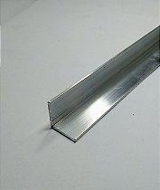 """Cantoneira de alumínio 5/8"""" X 1/16"""" com 1 metro"""