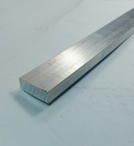 """Barra Chata de Aluminio 1"""" X 3/8"""" (2,54cm X 9,52mm)"""