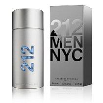 Perfume 212 NYC MEN Carolina Herrera Eau de Toilette Masculino 100 ml