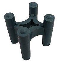 Espaçador Cadeirinha para aço com diâmetro de 4,2 a 16mm