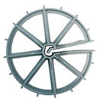 Espaçador Circular para parede de concreto e aço com diâmetro até 10mm
