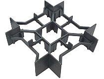 Espaçador para laje nervurada - Nervura de 10cm - EPS-100 - recobrimento inferior de 3 cm