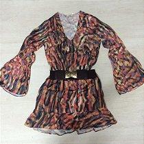 Vestido Seda de Onça Color