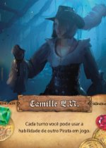 "Carta Promo - ""Camille"" - Dead Men Tell no Tales"