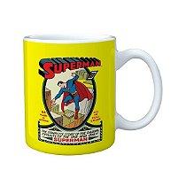 Caneca Porcelana DC Superman Colorido