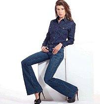 Flare Jeans Cintura Alta