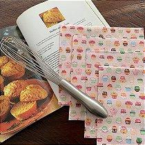Conjunto de Guardanapos Cupcakes 4 unidades