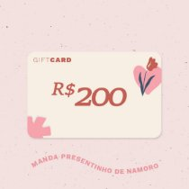 Gift Card R$200