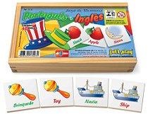 Jogo De Memória Educativa Português/Inglêscom 40peças