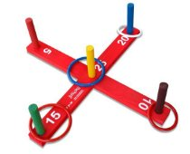 Brinquedo Educativo Jogo De Argolas Em Maderira