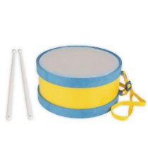Brinquedo Educativo Tambor Pequeno Instrumento Musical Idiofônico - CARLU