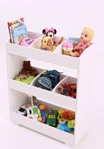 Organizador Infantil  Branco para quarto e brinquedoteca