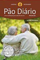 Devocional Pão Diário Volume 20 Letra Gigante