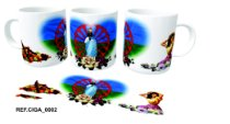 Caneca Ceramica Cignos 350ml branca ( 01 Unidade )