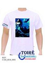 Camiseta Personalizada Branca - Iemanjá