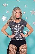 Camiseta Feminina Pink Floyd