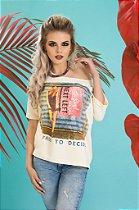 Camiseta Feminina Moletinho Free to Decide
