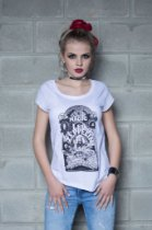Camiseta Feminina Magic Led Zeppelin