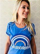 Vestido Feminino Stone Azul Califórnia