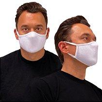 Máscara de Tecido Algodão Dupla Camada Anatômica Lavável Reutilizável eMask