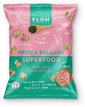Pipoca salgada Superfood Spirulina e Sal do Himalaia (32g)