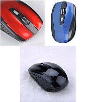 Mouse Óptico Sem Fio, 2.4 G Usb Wireless 1600 DPI