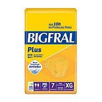 Fralda Descartável Geriátrica Bigfral  XG- 7 Unidades