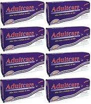Absorvente Adulto Adultcare Plus Unissex - Tamanho Unico - 160 Unidades.