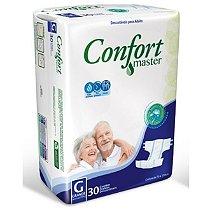 Fralda Geriatrica Confort Master G - 30 Unid