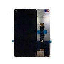 Tela Frontal Touch e Display LCD LG K61 Q630 Preta Sem Aro