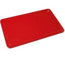 Tábua de Corte Profissional Vermelha com Canaleta - Pronyl