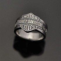 "Anel Harley-Davidson Soul: ""that is the difference"" em prata 950k"