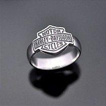 Anel Harley-Davidson Unissex em prata