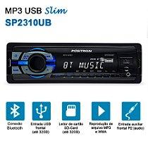 Rádio MP3 Player Positron SP 2310 BT Com Bluethooth