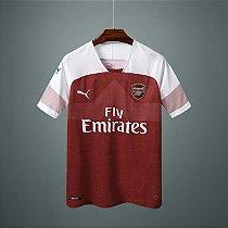 Camisa do Arsenal  2018/2019 Masculina/Feminina Editavel