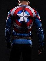 Camisa Capitão America manga/ Escudo