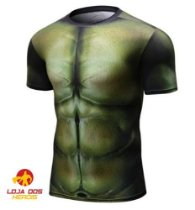 Camisa Hulk - Vingadores Guerra Infinita