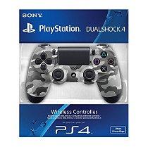 Controle Playstation 4 Dualshock 4 Camuflado Cinza Ps4