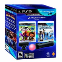 Kit Playstation 3 Move Essential Ps3 Bundle Eye Pet + Sports Champions Ps Move