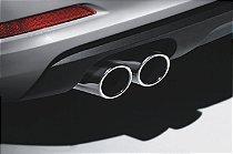 Ponteira Cromada para Audi A3 Novo 2015-2018