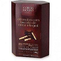 Alafarroba c/ Biscoito de Arroz Intg. 100g CarobHouse