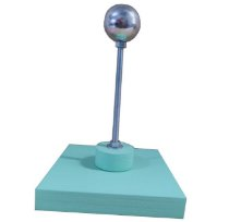 Apoio de Montagem cor verde Esfera de 3,5cm