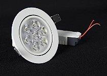 Spot de LED  7W Redondo Branco Quente